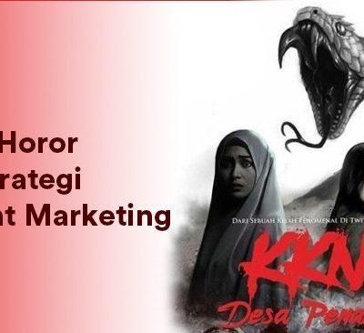 Kisah KKN Desa Penari menjadi contoh konten yang bisa dijadikan content marketing strategy. (Ilustrasi: Mitha Rahayu Dewi)
